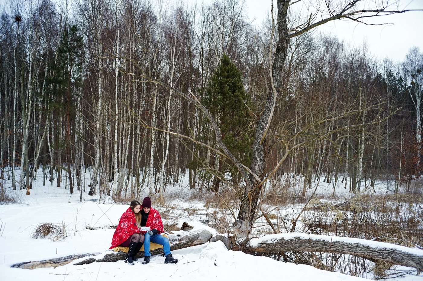 zimowa sesja Tarnobrzeg