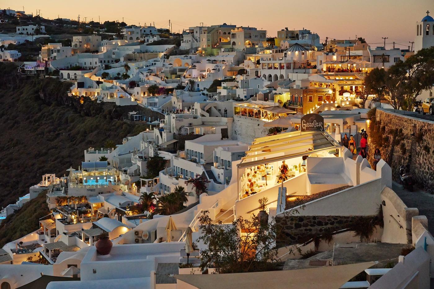 sesja narzeczeńska na Santorini
