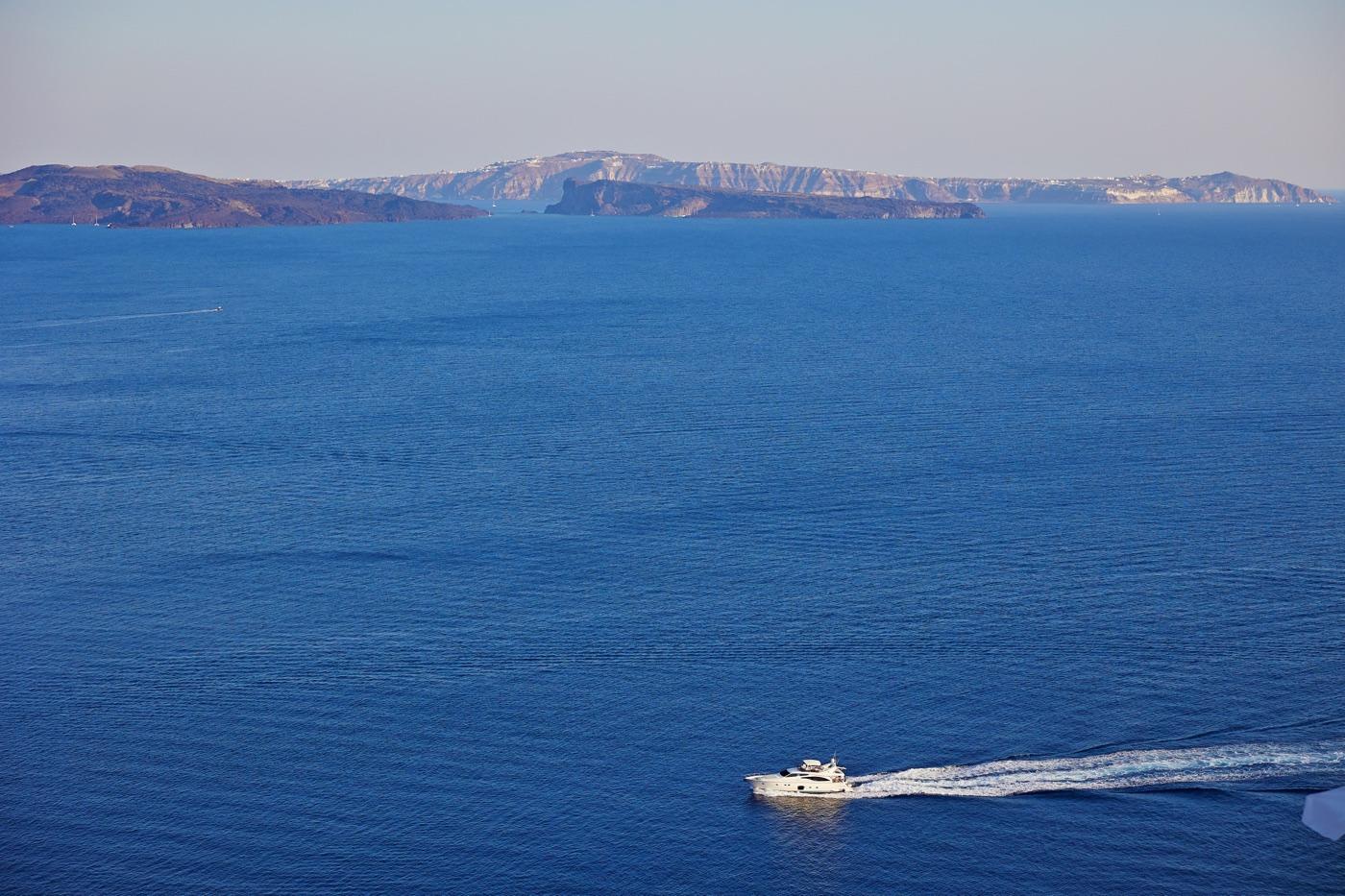 sesja na Santorini